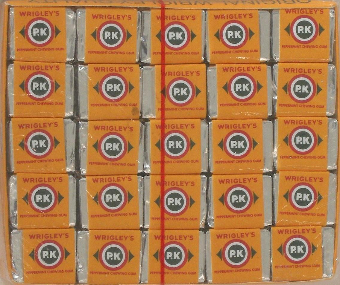 933. Curaçao's Best-Selling Gum: Wrigley's PK | 1000 ...