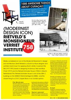 #758. Modernist Design Icon Rietveld's Monseigneur Verriet Institute in Go Weekly magazine