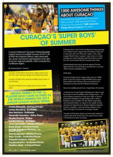 #667. Curaçao's 'Super Boys' of Summer featured in Go Weekly magazine.