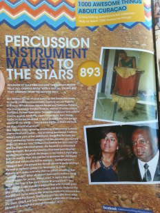 #893 Percussion Instrument Maker: Tatiana Saturnino-Felix featured in GO Weekly's 51st Edition.