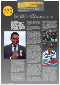 "#772. Interview with Sir Hensley ""Bam-Bam"" Meulens featured in Go Weekly's 8th edition."