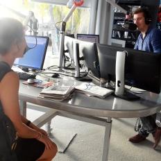 Chatting with Master Maarten Schakel, Dolfijn FM.