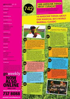 #742. 10 Awesome Things About Our Magical World Baseball Classic 2013 featured in GO Weekly.