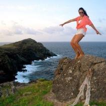 Kimberley lives in Curaçao.