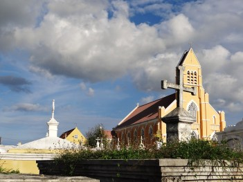 St. Willibrordus Church and Cemetery. Photo by the author.