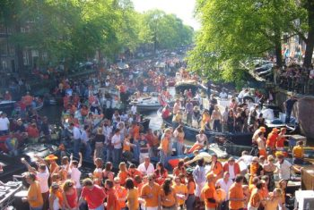 Queens Day Amsterdam.