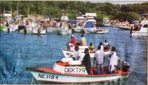 Vissers bij Fuikdag
