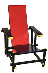 Rietveld's Red and Blue Chair (1917)