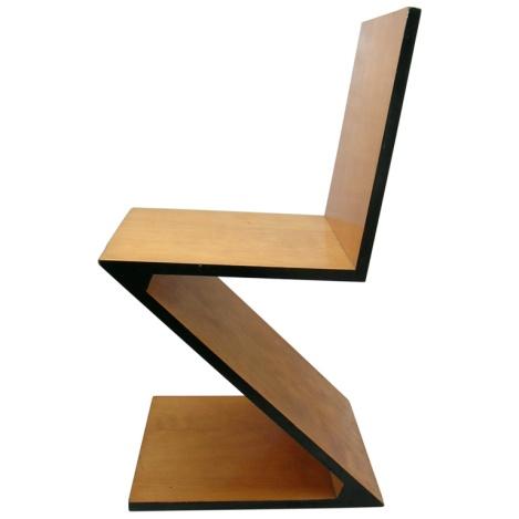 Rietveld Zig Zag chair.