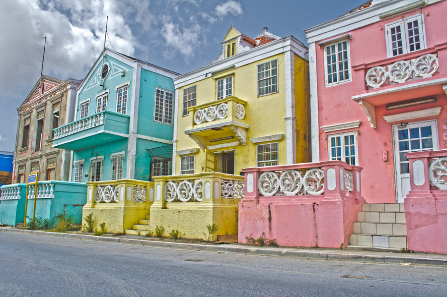 Colourful Beach Houses