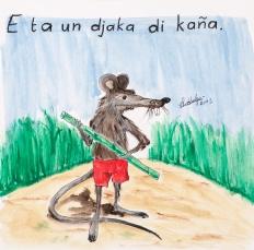 He's a sugarcane rat / He's a cunning mofo