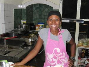 (Former) Chef and Owner Graciela Real.