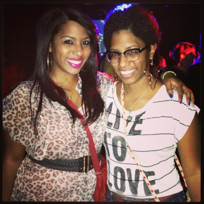 Keisha and her twin sister, Shaina, live in New York City.