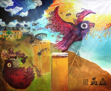 """Liberty"" for Keti Koti Festival 2012 by Francis Sling (c)."
