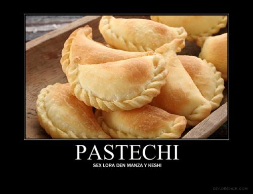 We must try Aruba's pastechis...