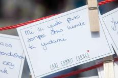Curacao Cares asks why at Givinism's May 2013 event.