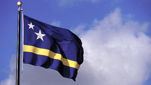 Curacao flag, now 29 years old.
