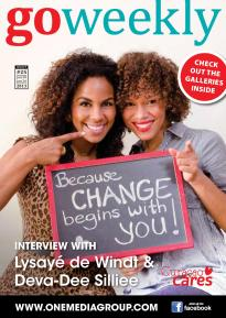Deva-Dee and Lysa on the cover of Go Weekly magazine.