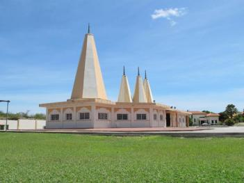Curacao's Hindu Temple was built in 2004.