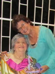 Shon Lenchita pictured here with her daughter, Janice.