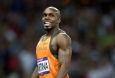 Churandy Martina, the fastest human to emerge from Curaçao.
