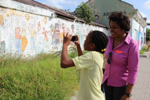 MCB volunteer and student photograph Fleur de Marie.