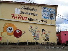 Fu Hao Minimarket sells Dutch cheese, Venezuelan Polar beer, Thai Mahatma and Jasmine rice and Scottish Ballantine's!