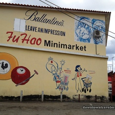 Fu Hao Minimarket sells Dutch cheese, Venezuelan Polar beer, Thai Mahatma and Jasmine rice and Scottish Ballantine's!