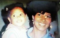 Young Deva and her awesome mother.