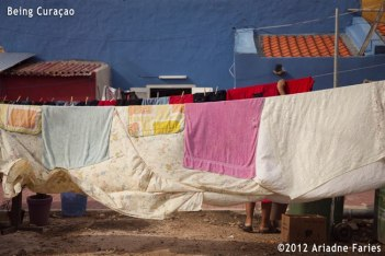 Wash Day in Fleur de Marie. An environmentally friendly benefit of life on the equator, intimacy included.