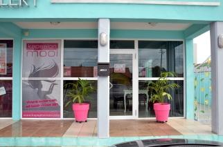 Mooi Kapsalon in Dutch = Beautiful Hair Salon... Pretty ehh quirky.