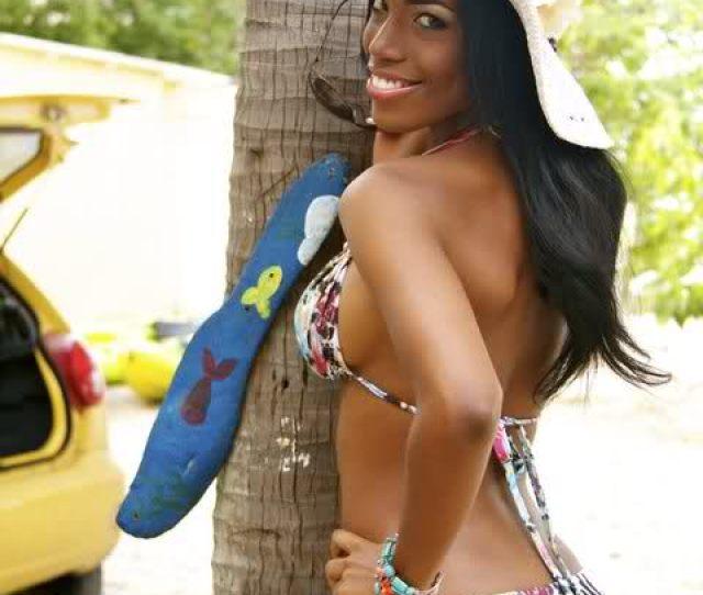 Thats Monifa Jansen Miss Curacao 2011 Backing Her Ass