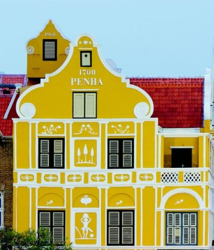 Penha building, Curacao.