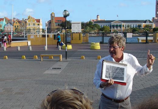 Anko van der Woude, Brionplein, Otrobanda.
