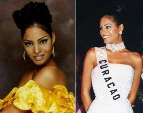 Miss Curacao 1997 and Top 6 Miss Universe 1997 finalist: Verna Vasquez.