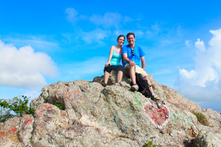 Shout out to adorable Minnesota couple - Jenna and Micah - and their 'Hiking Mt. Christoffel' post: http://wanderthemap.com/2012/09/from-boulders-to-mountains/.